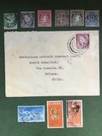 "IRLANDA - EIRE   Busta Viaggiata  Da Mullach Francobollo 1942 "" Sword Of Light "" 6 P. - 1937-1949 Éire"