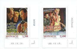 """MONACO 2014 N°2908/2909 """"LES FILMS DE GRACE KELLY"""" - Monaco"""