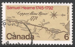 Canada. 1971 Bicentenary Of Samuel Hearne´s Expedition To The Coppermine River. 6c Used. SG 682 - 1952-.... Reign Of Elizabeth II