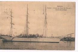 33803 ( 2 Scans ) Antwerpen - Anvers Voilier Comte De Smet De Naeyer Navire Ecole Belge - Antwerpen