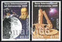 Malta - 2009 - Europa CEPT, Astronomy - Mint Stamp Set