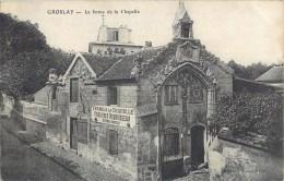 GROSLAY FERME DE LA CHAPELLE TEISSIERES NOURRISSEUR 95 - Groslay
