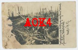 Jakobstadt 1917 Jēkabpils Lettland Zerschossene Russische Stellung Riga Düna - Guerre 1914-18