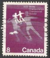 Canada. 1972 World Figure Skating Championships. 8c Used. SG 692 - 1952-.... Reign Of Elizabeth II