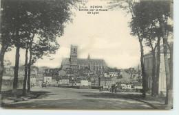 DEP 58 NEVERS ENTREE PAR LA ROUTE DE LYON - Nevers
