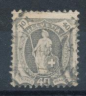 Suisse  N°109 - Usati