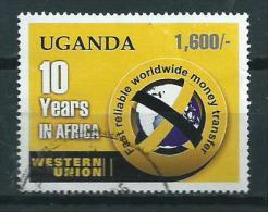 2006 Uganda 10 Years Western Union Used/gebruikt/oblitere - Ouganda (1962-...)
