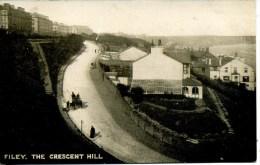 YORKS - FILEY - THE CRESCENT HILL Y1211 - Bradford
