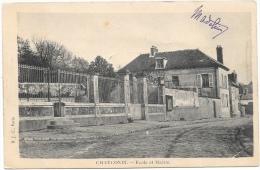 Chauconin NA1: Ecole Et Mairie 1905 - France