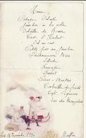 Menu Champagne Heidsieck Lent 1930 Traineau - Menükarten