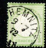 W2754  Empire 1872  Michel #2a (o)  ( Cat. €50. ) - Deutschland