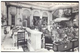 75 : PARIS (3EME) - HOTEL MODERNE, PLACE DE LA REPUBLIQUE - UN COIN DU HALL - Paris (03)