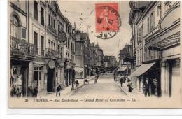 Aube : Troyes : La Rue Emile Zola - Troyes