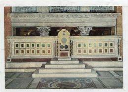 CHRISTIANITY - AK 261572 Roma - Basilica Di S. Lorenzo Fuori Le Mura - Cattedra Episcopale Con Plutei Cosmateschi - Iglesias Y Las Madonnas