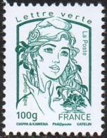 France Marianne De La Jeunesse Par Ciappa Et Kawena N° 4776 ** Le 100 Grammes Lettre Verte - 2013-... Marianne (Ciappa-Kawena)