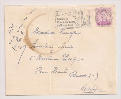 COB 1067 '06 NICE HOTEL De VILLE 13/1/1968 ALPES Mmes ' Marchand  Seul Sur Lettre / Alleen Op Brief - 1953-1972 Brillen