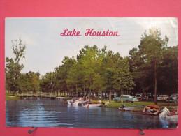 Texas - Lake Houston - Houston's Water Playground - 1961 - Scans Recto-verso - Houston