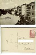 Macerata: Piazzale XXV Aprile. Cartolina B/n Cartonato Opaco FG Vg 1958 (animata) - Macerata