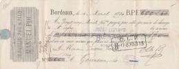 4/4/1894 MANUEL POC Ex BRAULIO POC Denrées Coloniales BORDEAUX Pour Gourdon Lot - Lettres De Change