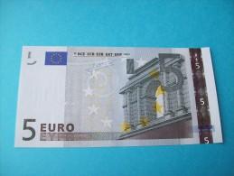 BILLET DE 5 EURO FRANCE L 026 F 1 SIGNATURE  JEAN-CLAUDE TRICHET - EURO