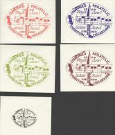 COMPEX 1958 STICKERS -  LA SALLE HOTEL CHICAGO - Vignettes De Fantaisie