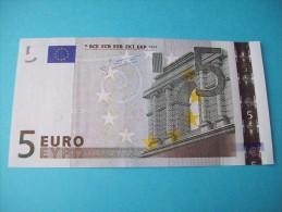 BILLET DE 5 EURO ALLEMAGNE R 004 H 2 SIGNATURE  JEAN-CLAUDE TRICHET - EURO