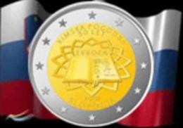 Slovénie 2007 : 2€ Commémorative 'Traité De Rome' - Eslovenia