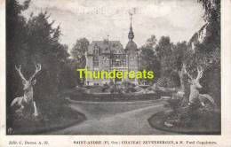 CPA  BRUGGES SAINT ANDRE BRUGGE SINT ANDRIES CHATEAU ZEVENBERGEN PAUL COPPIETERS - Brugge
