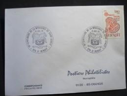 15-e Centenaire De La Naissance De Saint Benoit 13/07/1980 St Benoit - Marcophilie (Lettres)