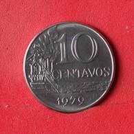 BRAZIL 10 CENTAVOS 1979 -    KM# 578,1a - (Nº13879) - Brazilië