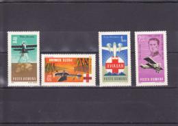 AVIATION SANITAIRE NEUF ** UNE SéRIE DE 4 VALEURS  N°214/217  YVERT ET TELLIER 1968 - Airmail