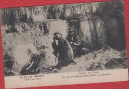 """REGION DU NORD """"Un Poste Téléphonique Dans Une Maison"""" - TBE - R/V - - Guerre 1914-18"""