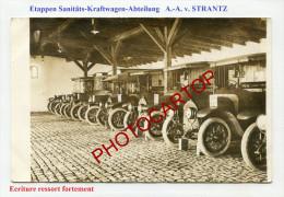 Ambulances-Etappen Sanitäts-Kraftwagen Abtlg A.-A.-von STRANTZ-CARTE PHOTO All.-Guerre-14-18-1 WK-Militaria-Feldpost- - Oorlog 1914-18