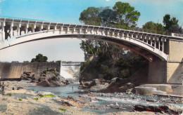 Afrique Algérie  (Ghilizan) RELIZANE Le Pont Du Barrage (bridge) (Cpsm-- Editions : C-A-P CAP 1505 ) PRIX FIXE - Other Cities