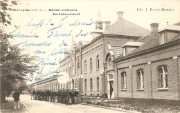 Merxplas / Merksplas : Garde Militaire --- Soldatenwacht 1908 - Merksplas