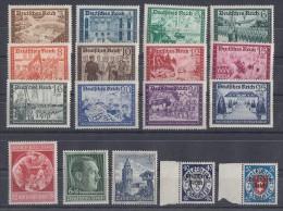 DR Lot Aus 1933-1945 Mit Falz Mit Minr.702-713 Ansehen !!!!!!!!!!!!!!! - Briefmarken