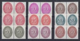 DR Lot Dienstmarken Mit Falz Paare Ansehen !!!!!!!!!!!!!! - Briefmarken
