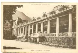 LF 462. Luchon, Le Casino - Verso : Timbre Vert La Paic 30c + Cachets Et Flamme - Luchon