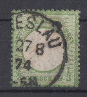 DR Minr.17 Gestempelt Breslau 27.8.74 - Gebraucht