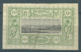 SOMALIS - 1894-1900 - MH/* - Yv 17 - Lot 13370 SECOND CHOICE - PLI AU MILIEU DU TIMBRE - Neufs