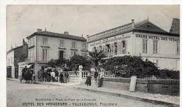 Mussidan Place Du Pont De La Crempse Hotel Des Voyageurs Villechanoux Proprietaire - Mussidan