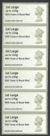 GB 2016 STAMPEX SPRING A008 MACHIN MA13 1ST CLASS & 1ST LARGE POST & GO ATM MNH - Great Britain