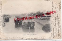 ASIE - VIET NAM - JONQUES DE L' ARROYO A CHOLON -  CARTE PRECURSEUR 1902 - Viêt-Nam