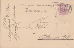 DR Ganzsache R2 Liegnitz 2  8.10.83 Seltener Stempel - Deutschland