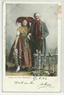 GRUSS AUS DEM SPREEWALD 1904 VIAGGIATA FP - Souvenir De...