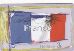 GREECE - European Union/France(flag), Amimex Prepaid Card, Tirage 500, 07/04, Used - France