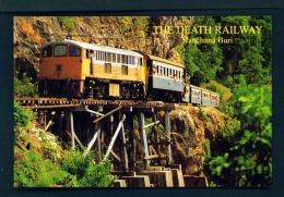 THAILAND  -  Kanchana Buri  The Death Railway  Unused Postcard - Thailand