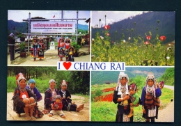 THAILAND  -  Chiang Rai  Multi View  Unused Postcard - Thailand
