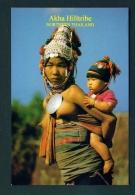 THAILAND  -  Akha Hilltribe  Unused Postcard - Thailand
