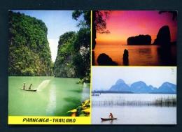 THAILAND  -  Phangnga  Multi View  Unused Postcard - Thailand